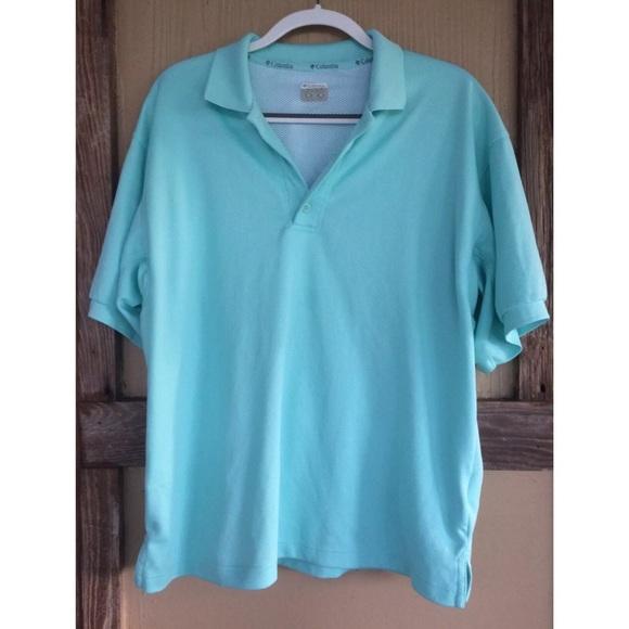 cb2254dc9f Columbia Shirts | Pfg Vented Polo Shirt Seafoam Omnishade | Poshmark